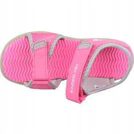 Sandały New Balance Sandal K K2004GRP różowe 2