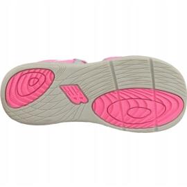 Sandały New Balance Sandal K K2004GRP różowe 3