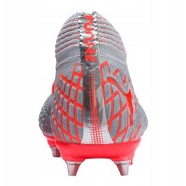 Buty piłkarskie Puma Future 4.1 Netfit Mx Sg M 105676-01 szare czerwony 1