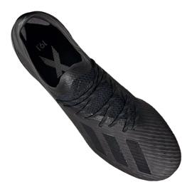 Buty piłkarskie adidas X 19.1 Fg M F35314 wielokolorowe czarne 3
