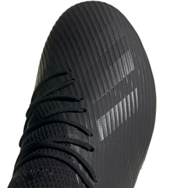 Buty piłkarskie adidas X 19.2 Fg M F35385 czarne czarny 4