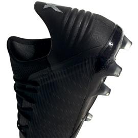 Buty piłkarskie adidas X 19.2 Fg M F35385 czarne czarny 5