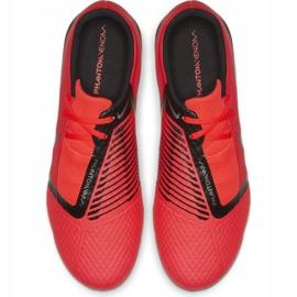 Buty piłkarskie Nike Phantom Venom Academy Tf M AO0571-600 czerwone czerwone 2
