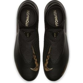 Buty piłkarskie Nike Phantom Vsn Academy Df FG/MG M AO3258-077 czarne czarny 1
