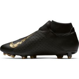 Buty piłkarskie Nike Phantom Vsn Academy Df FG/MG M AO3258-077 czarne czarne 2