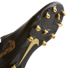 Buty piłkarskie Nike Phantom Vsn Academy Df FG/MG M AO3258-077 czarne czarne 4