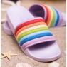 Sweet Shoes Kolorowe Gumowe Klapki zdjęcie 3