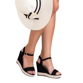 Seastar Czarne Sandały Espadryle 2