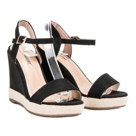 Seastar Czarne Sandały Espadryle 1