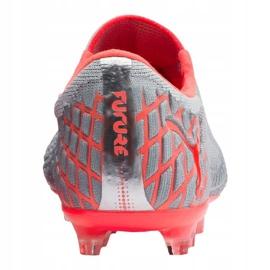 Buty piłkarskie Puma Future 4.1 Netfit Low Fg / Ag M 105730-01 czerwony, szary/srebrny szare 1