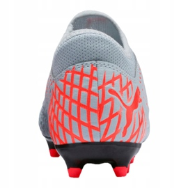 Buty piłkarskie Puma Future 4.4 Fg / Ag Jr 105696-01 szare wielokolorowe 1