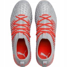 Buty piłkarskie Puma Future 4.3 Netfit Fg Ag M 105612 01 szare wielokolorowe 1