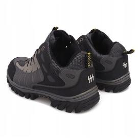 Szare męskie obuwie trekkingowe M317 2