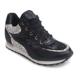 Sneakersy BK-001 Czarny czarne 1