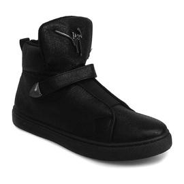 Sneakersy AN25 Czarny czarne 2