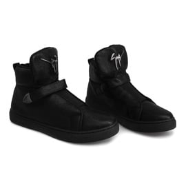 Sneakersy AN25 Czarny czarne 3