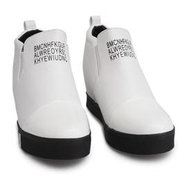 Sneakersy TL252A Biały białe 2