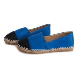 Trampki Espadryle LX116 Niebieski niebieskie 2