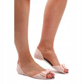Sandały Klapki Meliski KM01 Beżowy brązowe 3