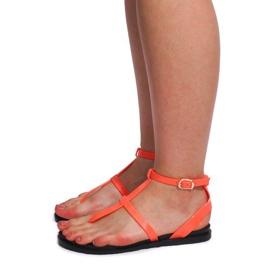 Sandały Meliski LS01 Różowy różowe 2
