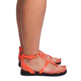 Sandały Meliski LS01 Różowy różowe 4