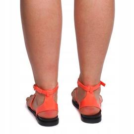 Sandały Meliski LS01 Różowy różowe 1