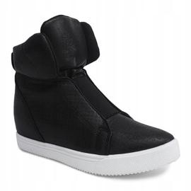 Sneakersy Na Koturnie TL088-5 Czarny czarne 3
