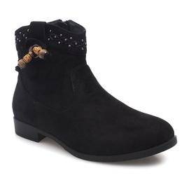Botko Kowbojki 99-241 Czarny czarne 2