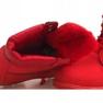 Czerwone Ocieplane Timberki Trapery 8315-19 Czerwony zdjęcie 2