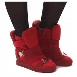 Sneakersy XW37001 Czerwony czerwone 1
