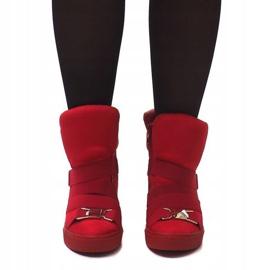 Sneakersy XW37001 Czerwony czerwone 2