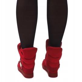 Sneakersy XW37001 Czerwony czerwone 3