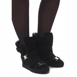 Sneakersy XW37001 Czarny czarne 1