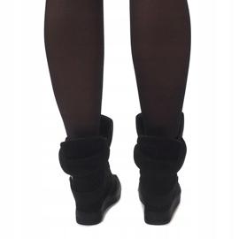 Sneakersy XW37001 Czarny czarne 2