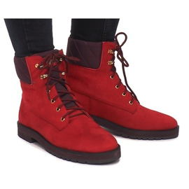 Traperki 1539Y Czerwony czerwone 1