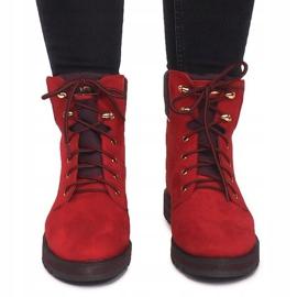 Traperki 1539Y Czerwony czerwone 5