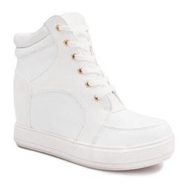 Suwak Sneakersy ORF15-4 Biały białe 1