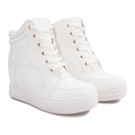 Suwak Sneakersy ORF15-4 Biały białe 2