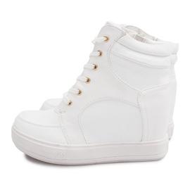Suwak Sneakersy ORF15-4 Biały białe 3