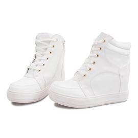 Suwak Sneakersy ORF15-4 Biały białe 4