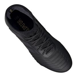 Buty piłkarskie adidas Predator 19.1 Fg Jr G25791 czarne czarny 3