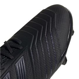 Buty piłkarskie adidas Predator 19.1 Fg Jr G25791 czarne czarny 4