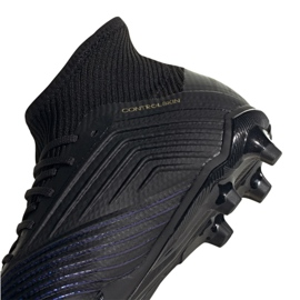 Buty piłkarskie adidas Predator 19.1 Fg Jr G25791 czarne czarny 5