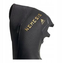 Buty piłkarskie adidas Nemeziz 19.3 Ll Fg M EF0371 czarne czarne 2