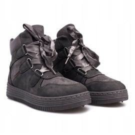 Szare sneakersy Paule 1