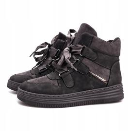 Szare sneakersy Paule 3