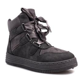 Szare sneakersy Paule 4