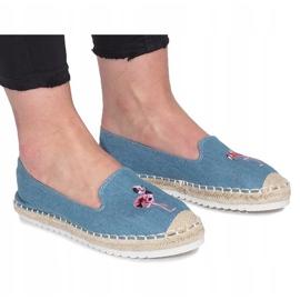 Niebieskie espadryle Flaming Jeans 1