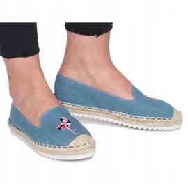 Niebieskie espadryle Flaming Jeans 2