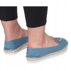 Niebieskie espadryle Flaming Jeans 3